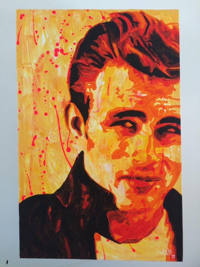 portret James Dean