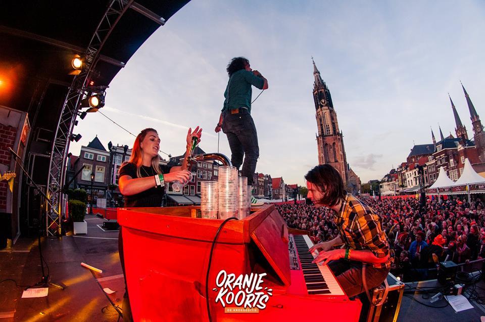 Pianobar Oranjekoorts Festival