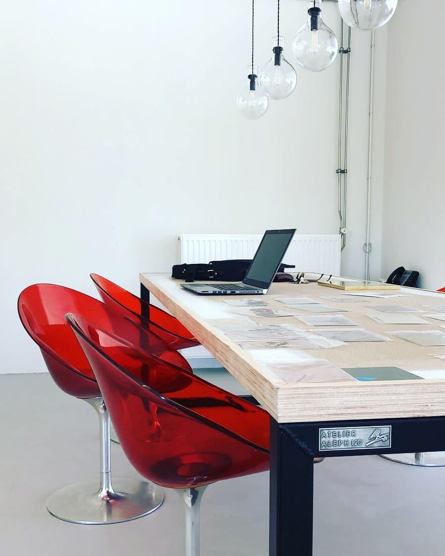 Stalen Tafel Architectenstudio Amsterdam